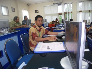 admin ayomendidik juga duta lumajang di  diklat ICT p4tk matematika