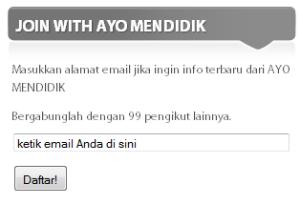ketik email Anda di sini