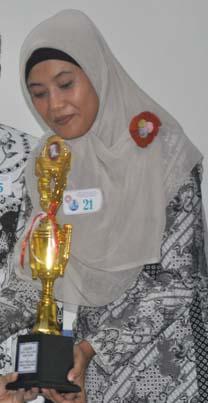 Ibu AJi dari Ranting 2 menjadi juara 1