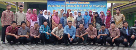 Peserta Pelatihan The Art of Teaching KKMI Se Kecamatan Senduro