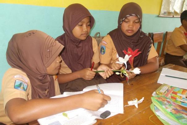 siswi-bersama-temannya-mengamati-dan-menggambar-hasil-diskusinya-problem-based-learning-ayo-mendidik