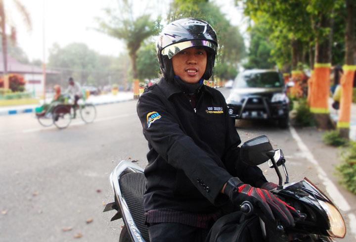 Bp Afif, Guru SDN Bedayu Talang Kec. Senduro Kab. Lumajang