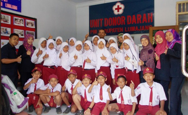 donor darah 1 ayo mendidik