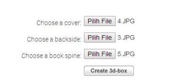 Cara Mudah Membuat Cover 3D untuk Ebook atau Produk Lain Tanpa Software