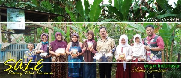 kebersamaan bersama karyawan, siswa, dan keluarga Pak  Halim