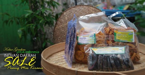 beberapa produk dari home industri BAROKAH